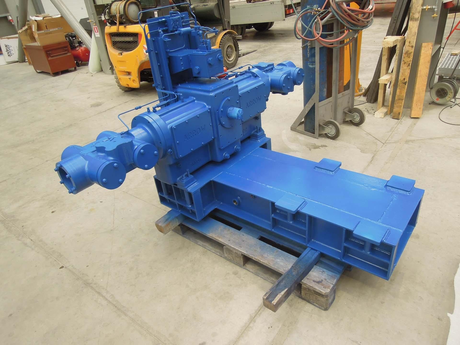 arrow vrc  abb kw electric motor euro gas systems